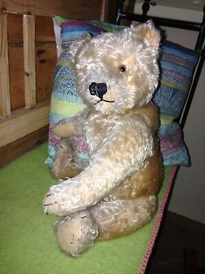 Alter STEIFF Teddybär -Old Teddy Bear - Vintage - Antique Teddybaer - 42cm Antik