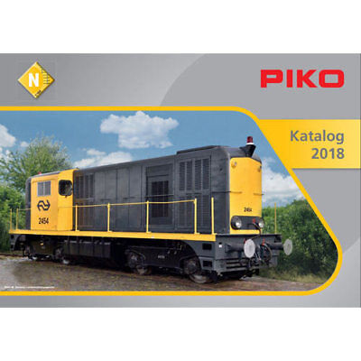 PIKO N Scale Catalogue 2018 N Gauge 99698D