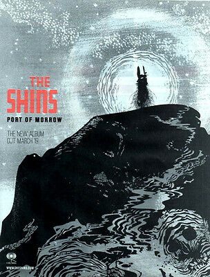 THE SHINS Port of Morrow - Full Page Magazine Advert Picture 2012