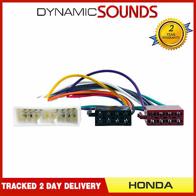 ct20hd01 car stereo wiring harness adaptor iso loom for honda all models