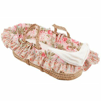 Cotton Tale Tea Party Moses Basket