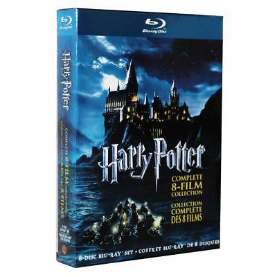 1-8 Movie DVD Films Box Set Complete 1-8 Film Collection 2011 8-Disc New Sealed