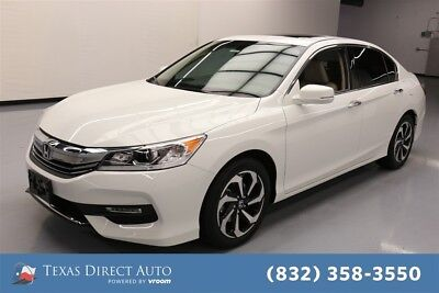 2017 Honda Accord EX-L V6 Texas Direct Auto 2017 EX-L V6 Used 3.5L V6 24V Automatic FWD Sedan