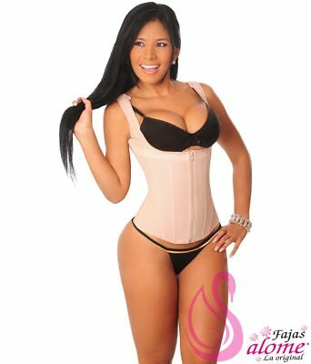 Fajas Colombianas Salome 0314 Powernet Chaleco Moldeador para mujer