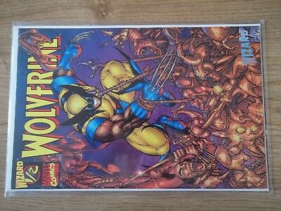 WOLVERINE WIZARD #1/2 MARVEL COMICS WITH COA limited edition