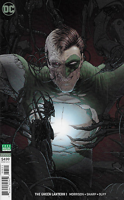 Green Lantern Comic Issue 1 Limited Variant Modern Age First Print 2018 Morrison