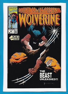 Marvel Comics Presents #63_1990_Very Fine_Wolverine_Scarlet Witch_Mighty Thor!