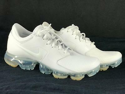 Nike Air VaporMax Flyknit White Men's Limited New With Box Size 8.5