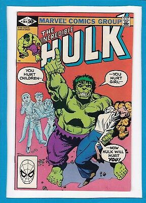 "Incredible Hulk #264_October 1981_Very Fine/near Mint_""he Flies By Night""!"