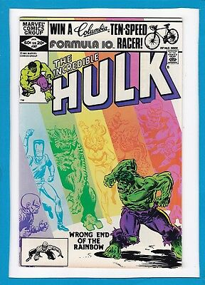 "Incredible Hulk #267_January 1982_Near Mint Minus_""what A Day For A Daydream""!"
