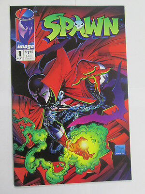 SPAWN #1  WHITE PAGES  High Grade Comics Jason Wynn May, 1992 NO RESERVE
