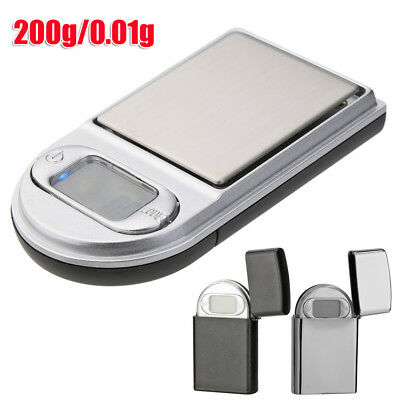200g/0.01g High Precision LCD Digital Pocket Electronic Jewelry Scale Weighing