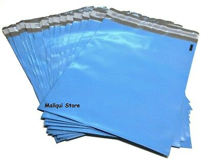 50 BLUE COLOR POLY MAILER BAGS 10 x 13 BOUTIQUE SHIPPING ENVELOPE MAILING