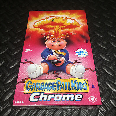 GARBAGE PAIL KIDS CHROME 1 NEW/SEALED HOBBY BOX 2013 (1985 1st remake) RARE! W@W