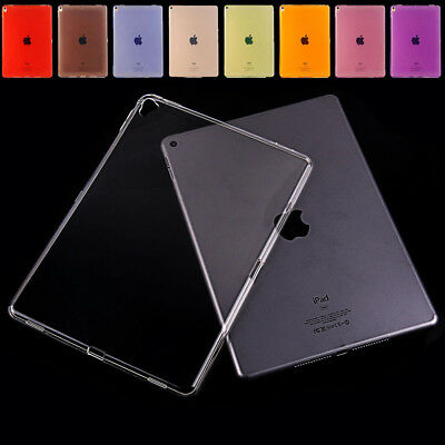 """For Apple iPad Pro 11"""" inch 2018 Crystal TPU Clear Soft Silicone Back Case Cover"""