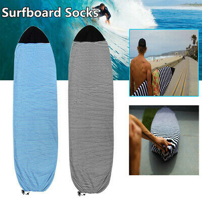 """Portable Surfboard Sock Protective Cover Storage Case Surfboard Bag 6.3"""" 6.6"""" 7"""""""