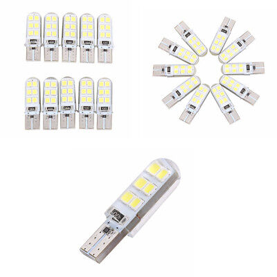 10Pcs T10 2835 LED Canbus Super Bright Car Width Lights Lamps Bulbs White CHY