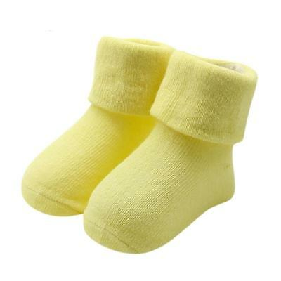 Baby Kids Girls Comfortable Cotton Slippers Warm Ankle Socks