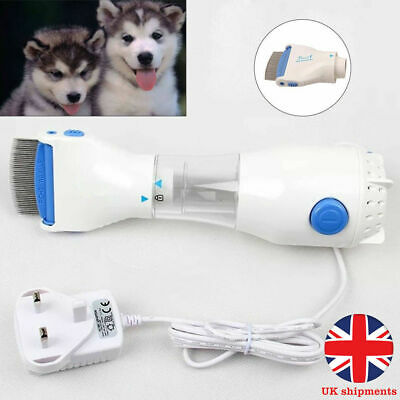 Pet Electric Electronic Head Lice nit Comb Filter Detect Kill Headlice Control