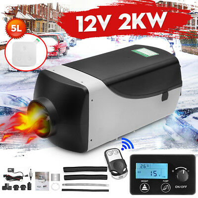 12V 2000W Air diesel Heater New LCD Monitor Remote 2KW For Trucks Boats Bus Car