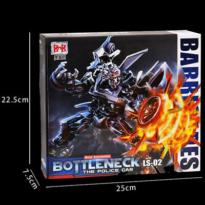 Black Mamba Transformer Alloy Roadblock LS-02 MPM05 Police Car Action figure