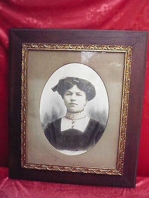 Very Old Picture__Anikes Portrait Photo __Signed Pianetti__Beautiful , Antique
