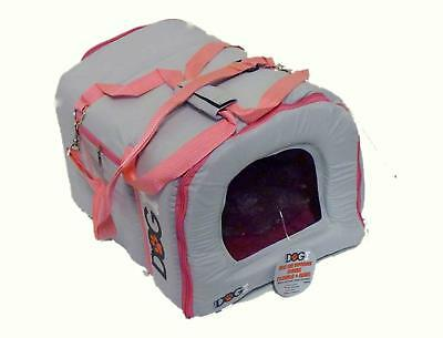 Urban Living Cushioned Padded Pet Transport Carrier for Small Dogs Cats Rabbits