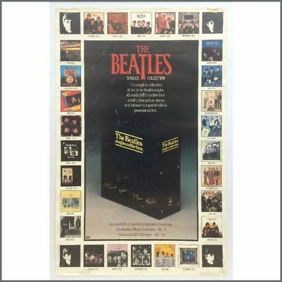 The Beatles 1982 Singles Collection Promotional Poster (UK)