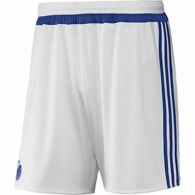 adidas KID'S FCK COPENHAGEN TRAINING SHORTS WHITE SOCCER BOYS GIRLS 7-16 DENMARK