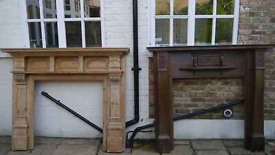 Solid wood Antique/Edwardian fire surround