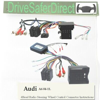 CANbuz-SWC-0139-03 Steering Wheel Control for Android Radio/Audi A6 4B, C5 04-11