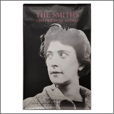 The Smiths 1987 Girlfriend In A Coma Rough Trade Promotional Poster (UK)