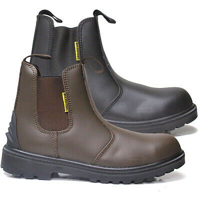 Mens Dr Martens Occupational Leather Industrial Non Safety Dealer Chelsea Boots