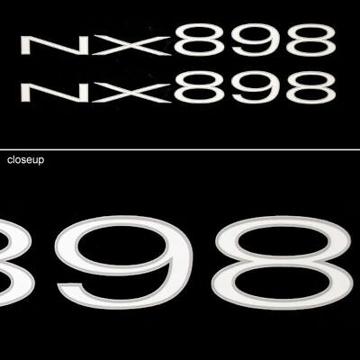 Tracker 104204 Nx 898 Boat Decals (Pair)