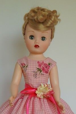 "Vintage Style Doll Dress for 20-21"" Vintage or Modern Cissy MA Doll"