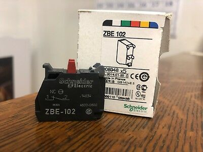 NEW ZBE-102 Contact Block N/C Schneider Electric Telemecanique