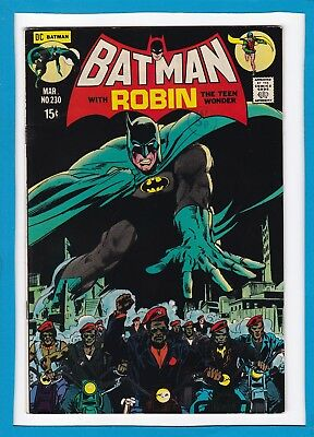"""Batman #230_March 1971_Very Fine+_Robin_""""take-Over Of Paradise""""_Bronze Age Dc!"""
