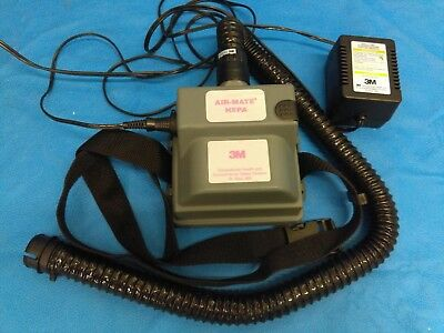 3M Air-Mate HEPA Powered Air Filter Purifying Respirator Unit with charger