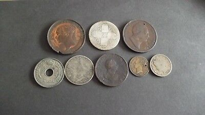 INTERESTING JOB LOT OF OLD COINS   99p GLP-3