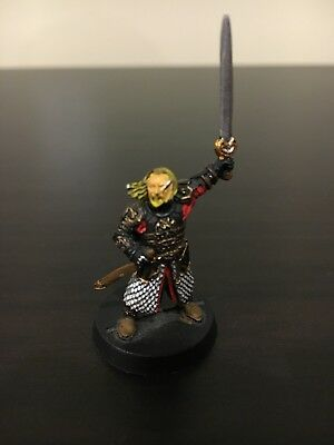 Lord of the Rings Games Workshop Mounted Theoden METAL GW Rohan