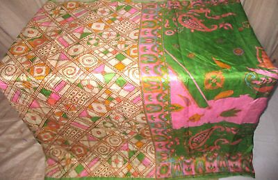 Multi-color Pure Silk 4 yard Vintage Sari Saree Unique Hot Selling buying #9BUDA