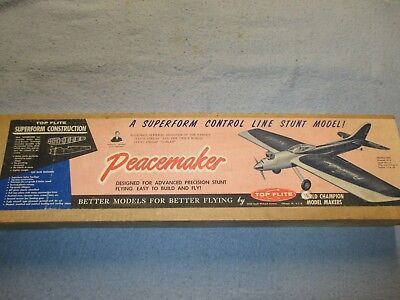 "**vintage** ""peacemaker L/c Kit"" By Top Flite  ""un-Touched"""
