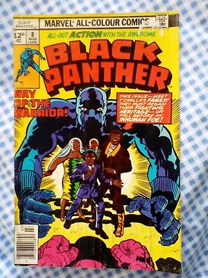 Black Panther issue 8 from vol 1 (1978) Jack Kirby story and art