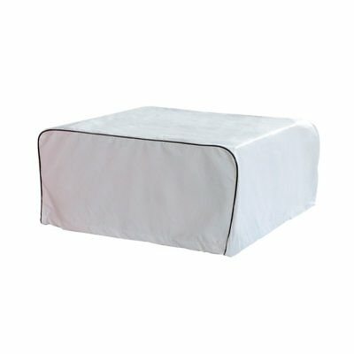 ALEKO Weather-Resistant RV Air Conditioner Cover 38 x 26 Inches White