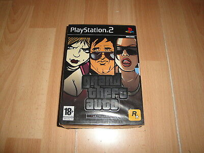 Grand Theft Auto Gta Iii - Vice City - San Andreas La Trilogia Para Ps2 Nuevo