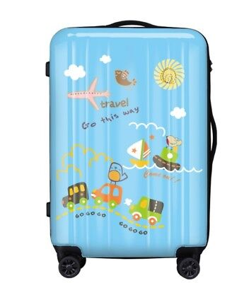 E434 Coded Lock Universal Wheel ABS+PC Travel Suitcase Luggage 20 Inches W