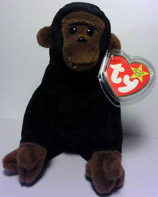b98ce78ee36 CONGO™ THE GORILLA Ty™ 5TH GEN BEANIE BABY 1996 RETIRED MINT TAGS VERY RARE