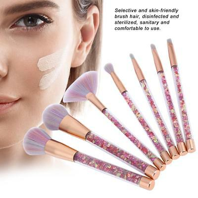10PCS Makeup Brushes Set Marble Pattern Powder Blush Eyeshadow Cosmetic Tools