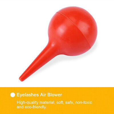 New Eyelash Extension Rubber Air Puffer Blower Pump Help Glue Drying Makeup Tool