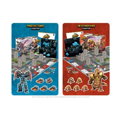 Monsterpocalypse Miniatures Game Wave 1 (2 Starters + 4 Boosters)  Brand New Fre